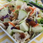 Crunchy Mayonaise Free Chicken Salad