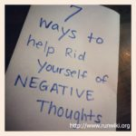 7 ways to get rid of negative