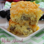 Make Ahead Gluten Free Breakfast Strata