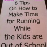 6 tips on making time for running