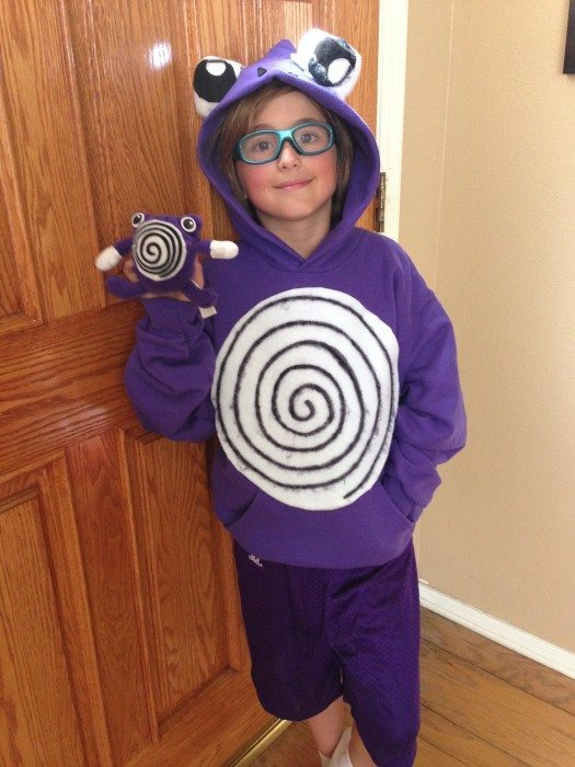 Easy DIY Polywhirl Pokemon Costume for Halloween