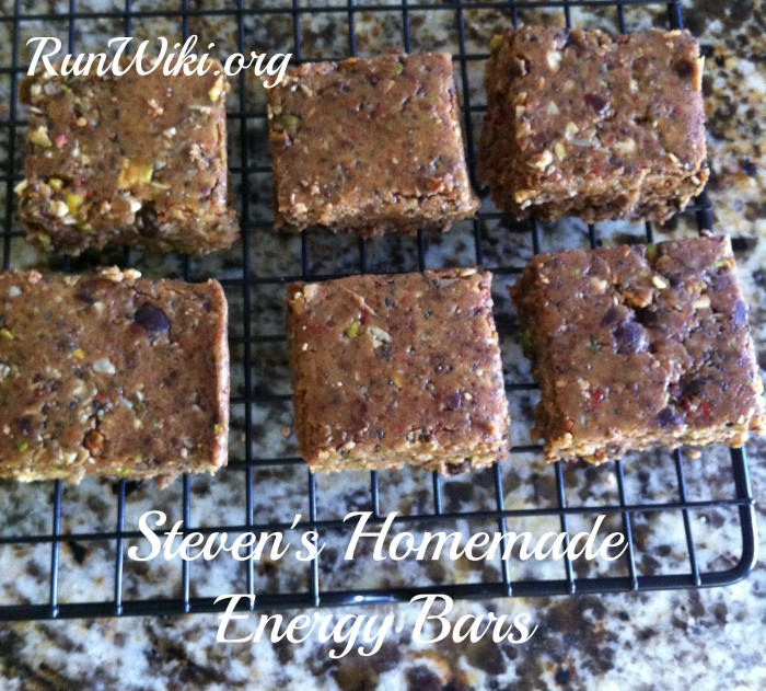 DIY Homemade energy bar recipe- These bars can be cut into bite sized pieces and are some of the best tasting I've ever made. Great to serve to kids as a healthy snack, I've even served them as an appetizer at a potluck