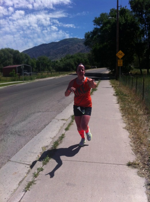 Holly in her first run Leg 2 #Ragnarwb