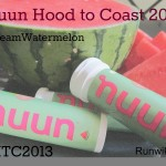 Getting Ready for Hood to Coast with Nuun Team Watermelon