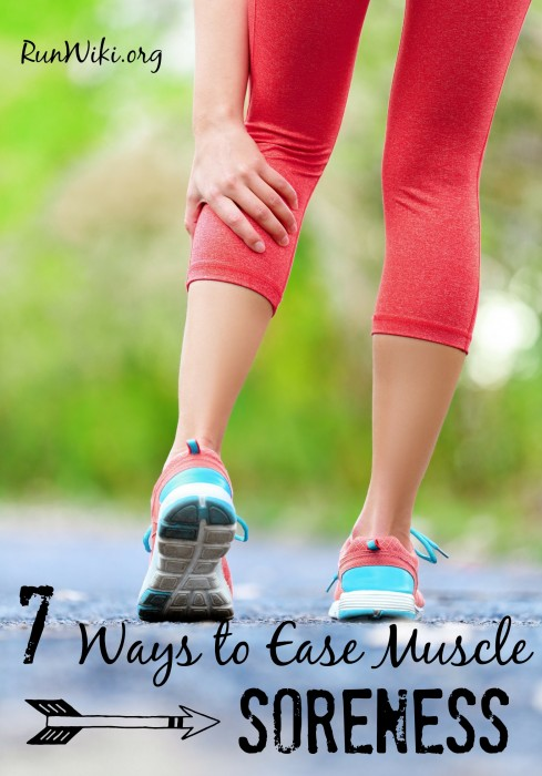 7 ways to ease muscle soreness after a workout or run. I swear by number 5! These tips are what got me through  my 12 week half marathon training. It really helps motivate you to get up and run when you re not so sore. Popular running tips | quotes