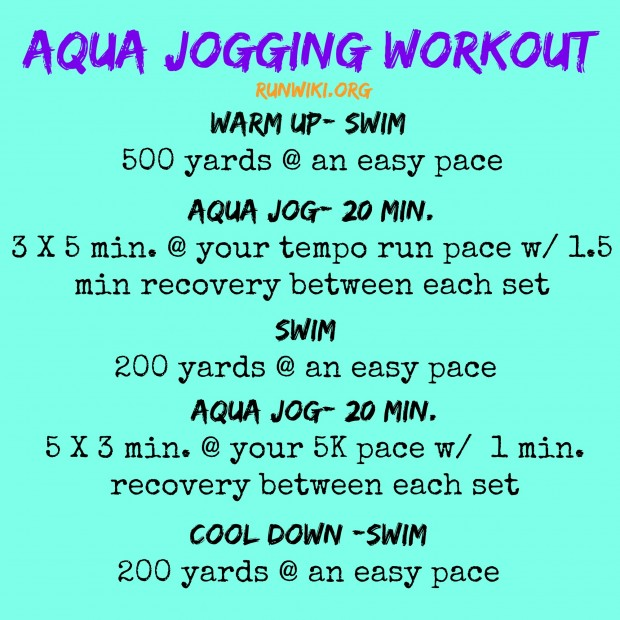 Deep Water Running aka Aqua Jogging. Never thought I'd ever jog. An underwater fitness workout that is great when recovering from a running injury.