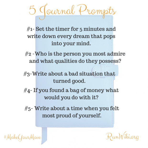 5 Journal Prompts / ideas- these journaling tips are great for adults or children