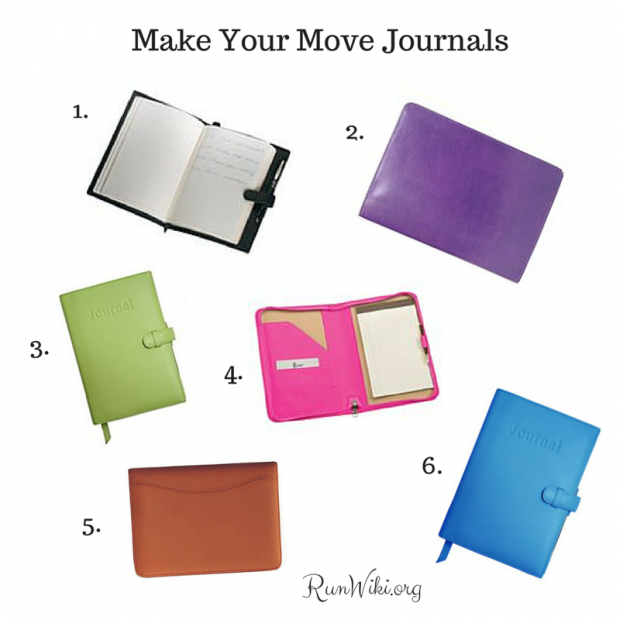 6 Make Your Move Journals