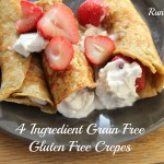 4 Ingredient, Gluten Free, Grain Free, Crepes