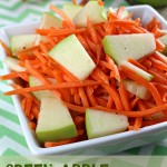 Green Apple and Carrot Slaw
