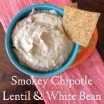 Smokey Chipolte White Bean and Lentil Hummus