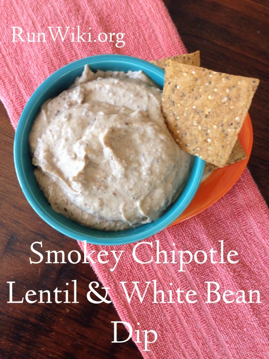 Smokey Chipolte White Bean and Lentil Hummus- this appetizer recipe is great at parties or potlucks- super healthy, clean, vegan, gluten free and quick and easy to make