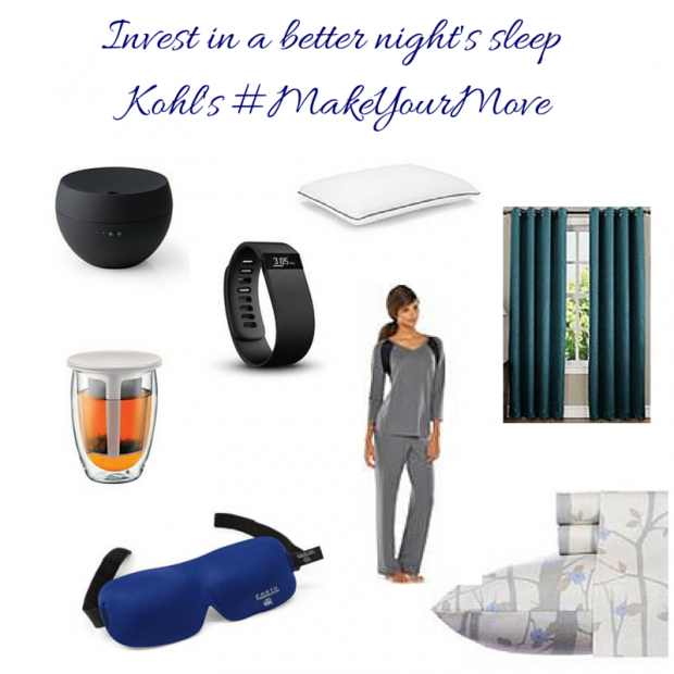 Sleep Better with Kohl's #MakeYourMove