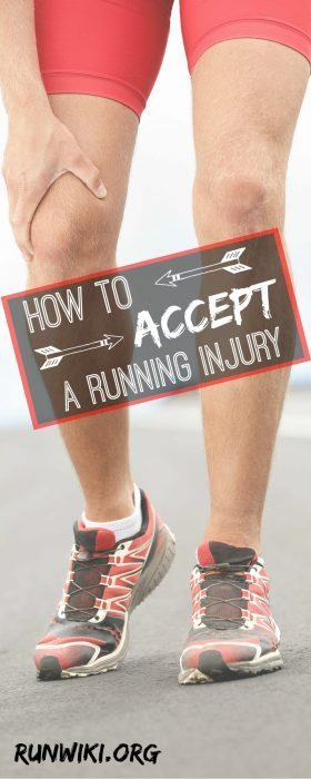 How to Accept a Running Injury. It's tough taking time off to deal with injuries, this post really helped until I was able to make full recovery. half marathon training| marathon | running motivation | fitness
