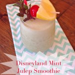 Mint Julep Smoothie – Inspired by our trip to Disneyland