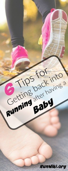 6 tips for getting back into your running routine after baby- I found #5 to be especially helpful. These tips are realistic and great for people of all speeds. Half marathon training| fitness | maternity