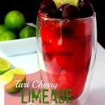 Tart Cherry Limeade Cooler