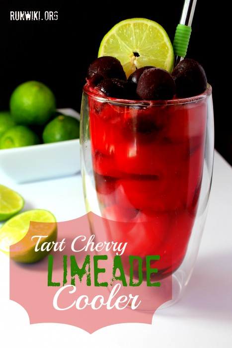 I served this for my kids party last weekend...it was a huge hit. This non alcoholic cherry limeade mocktail recipe is great for parties and as a refreshing cold summer drink.