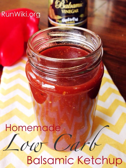I love this Low Carb Balsamic Ketchup. Although tomatoes and balsamic contain some sugar, so this isn't for someone on a keto diet, this homemade condiment is good enough to eat with breakfast, lunch and dinner