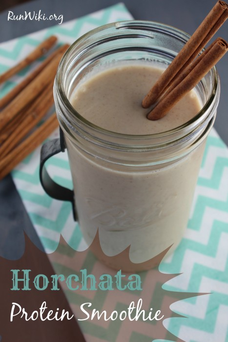 Horchata Protein Smoothie-very simple, only a few ingredients- if you love horchata like I do, this is the perfect quick and easy breakfast, healthy snack or post workout meal- vegan- sugar free- lowcarb- keto