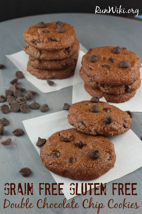 Vegan Double Chocolate Chip Cookie. Gluten Free and Dairy Free, Grain Free. This vegan cookie recipe is so good. Quick and easy to make such a great dessert, after school or mid day snack.