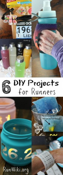 6 DIY Projects for Runners- training for a half marathon, 5k, 10k, or marathon? Here are 6 homemade projects you wont want to miss during your 12 weeks. Running motivation | fitness | quotes | inspiration |beginners