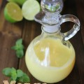 Mango Lime Salad Dressing recipe- Love this sweet and tangy homemade dressing.Also served it as a appetizer dip at parties with veggies.