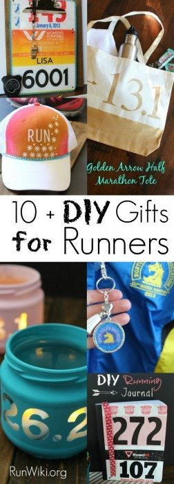 With Christmas and Chanukah right around the corner, I'm getting a head start on Easy DIY crafts for all of the runners in my life.  I have so many friends training for their first race, from Half Marathon, 5K, 10K or marathon, these are presents I'd be proud to give. Some are so easy kids could make them for their parents. Running Motivation | quotes | tips | 12 week training plan  | fitness | beginners