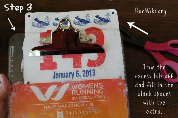 Ever wonder what to do with old race bibs? Here is an easy DIY craft for runners.  Take those Half Marathon, 10K, and 5k memories and turn them into a gift for yourself. I can see making this as a Christmas gift for a XC coach. Running tips | motivation | quotes |training | beginner