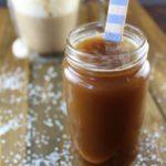 5 Ingredient Reduced Sugar Salted Caramel Sauce- Vegan