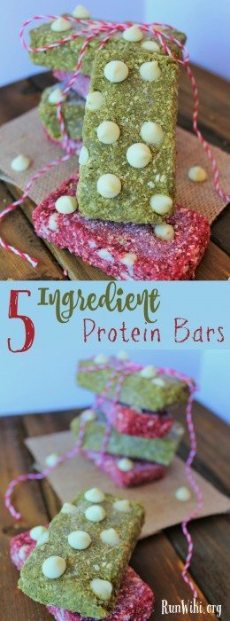 5 ingredient energy bars- This snack is a perfect as pre-run fuel- packed with protein and the secret natural ingredient gives you a boost - this might be your new race day secret weapon. Plus, these would make a perfect DIY Christmas gift for all of your all of your running friends and neighbors.