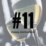 Happy 11th Anniversary – Until the Cows Come Home