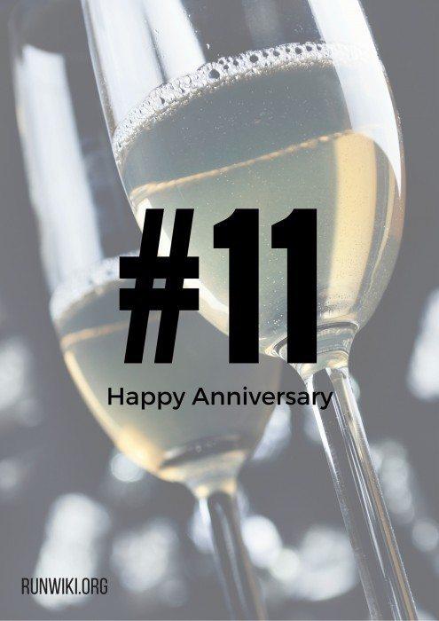 Happy 11th Anniversary to my husaband