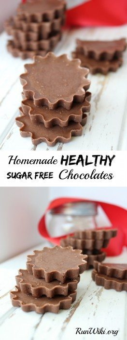 In my opinion this is by far the best homemade DIY healthy chocolate. I eat this whenever I am craving something sweet but don't want to down a box of candy. One or two of these and I feel satisfied. There is an option for sugar free or reduced sugar. Packed with protein and omegas. Love this quick and easy dessert recipe!
