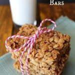 Easy Oatmeal Nut Butter Granola Bars
