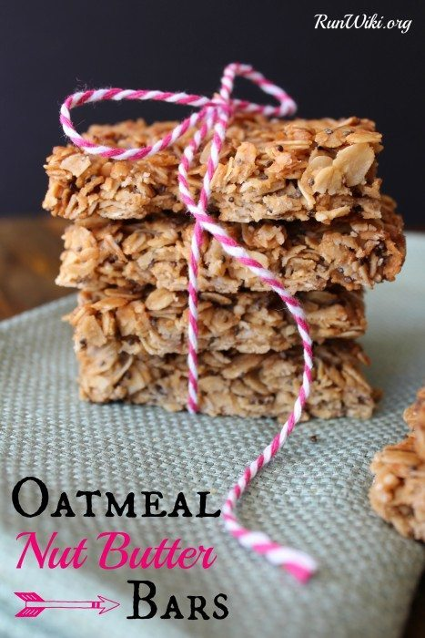 Store bought granola bars are full of junk ingredients. Making them at home is so easy! This is my go-to pre-run fuel or grab and go breakfast for my kids when we are running late. We eat these as a healthy after school snack. Loaded with protein, very little added sugar and tons of omegas. Love this recipe!