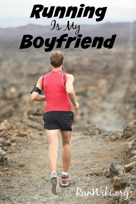 Running is my Boyfriend - a hilarious essay about how one runner compares her time off due to injury to being cheated on by a lover. If your are training for a half marathon, 10K or 5K or just love the sport, this is an inspirational read. Humor| quotes
