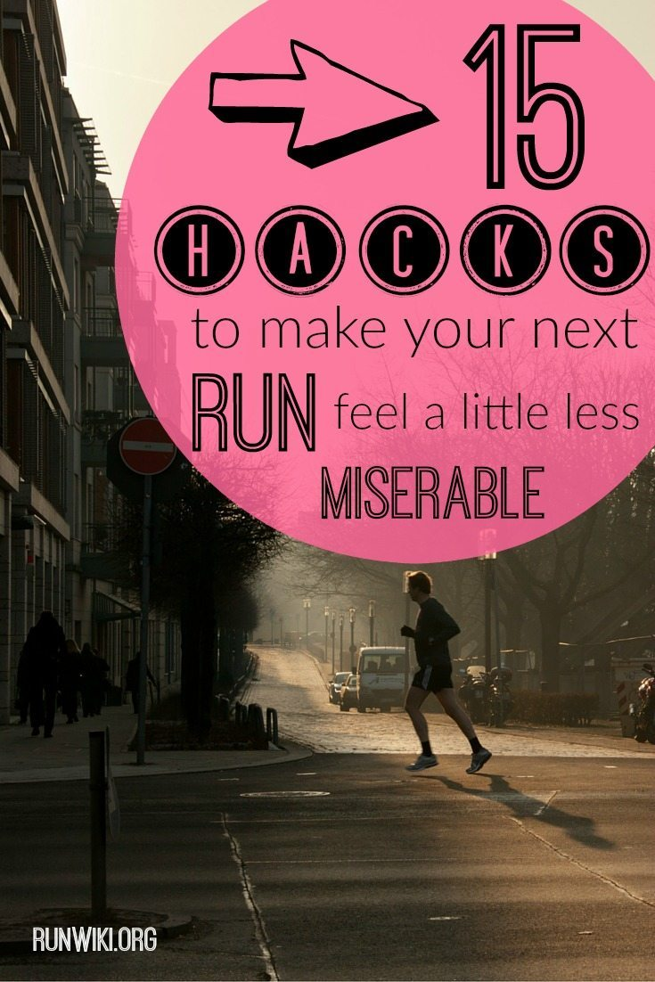 how to make running less boring