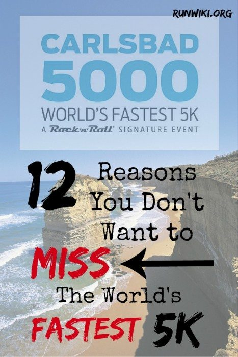 Why you don't want to miss running the world's fastest 5K. San Diego | races | Rock n Roll marathon series | Discount Code