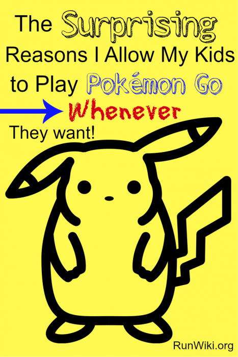 The reasons I allow my kids to play Pokemon go whenever they want. Parenting | tips | life | ideas
