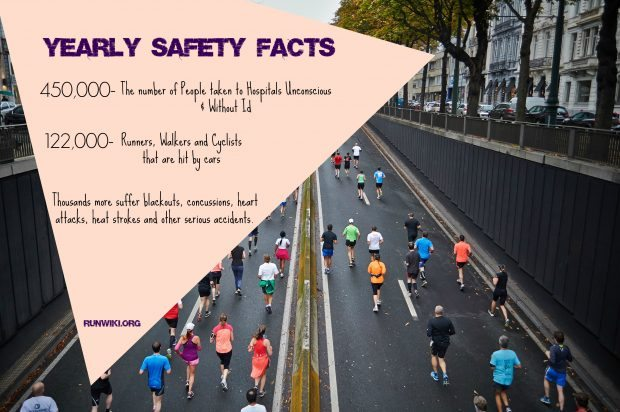 safety stats for runners