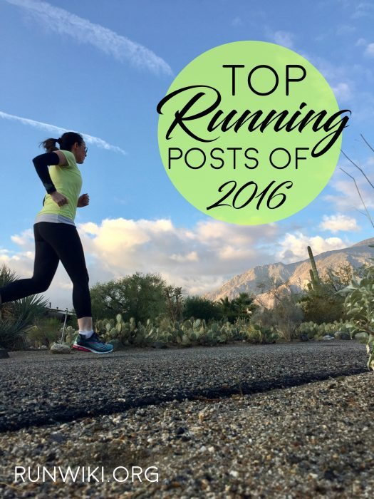 My top posts of 2016 including running, recipes and DIY and crafts
