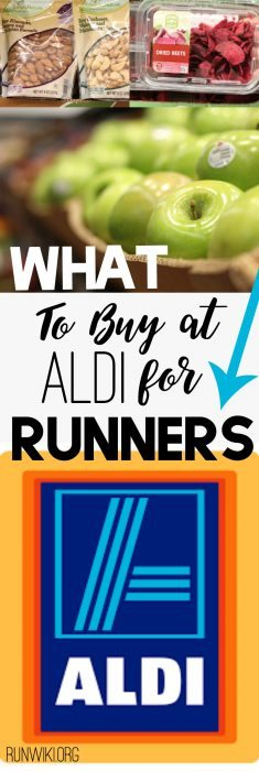 What to Buy at Aldi for Runners. Running a Marathon or Half? Check out how to save money buying all the foods that will help you perform your best. Clean Eating | Whole Foods | Training