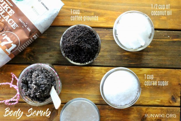 4 ways | ideas to reuse and repourpose your coffee grounds that you will actually use. Beauty | Gardens | Home | Ways to recylce| Earth Day | Brown Sugar | Coconut oil | Pictures | DIY | Body Scrub #shop