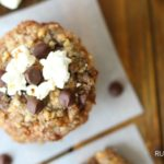 Popcorn Chocolate Chip Banana Cookies: Pre or Post Run Fuel